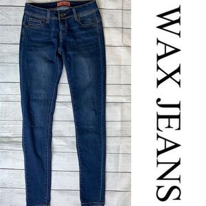 Wax Jean Butt I Love You Skinny Jeans Size 1